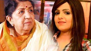 Sugandha Mishra Insults Lata Mangeshkar At 7th Mirchi Musi..