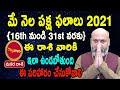 May Rasi Phalalu   16th May to 31st May   Makara Rashi 2021   Nanaji Patnaik   Pooja Tv Telugu
