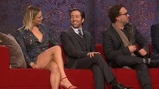 Kaley Cuoco Crossed Legs