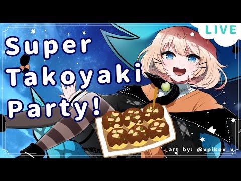 【TAKOYAKI PARTY】3X CELEBRATION?! WOW✨  ☆⭒NIJISANJI EN ✧ Millie Parfait ☆⭒