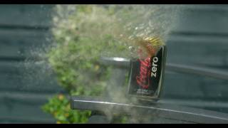 Air Pistol vs Coke Can at 2500fps - The Slow Mo Guys