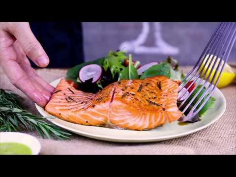 Thammachart Seafood - Let's Enjoy Salmon