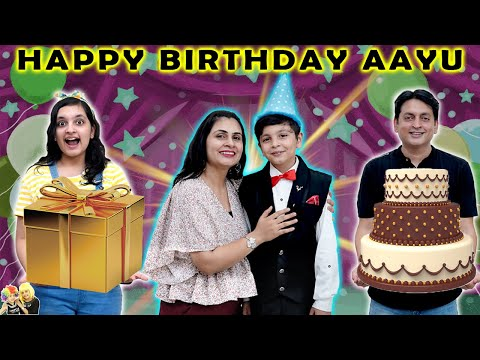 HAPPY BIRTHDAY AAYU   Special Birthday Celebration with Family   Surprise Gifts   Aayu and Pihu Show