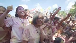 Đường chạy sắc màu - Lễ hội truyền thống - Lần 2 - [KHOA CÔNG NGHỆ THỰC PHẨM] - HUFI