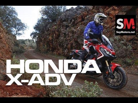 Prueba HONDA XADV 2018: prueba scooter  [FULLHD]