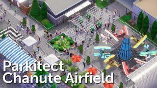 Parkitect Campaign (Part 2) - Chanute Airfield - Planes & Coasters