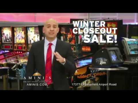 Amini's Galleria Winter Blow Out Sale - 2017