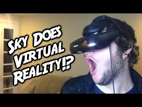 SKY DOES VIRTUAL REALITY!? - Smashpipe Games