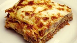 Easy Lasagna Recipe with Bechamel Sauce