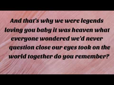 Legends - Kelsea Ballerini (Lyrics)