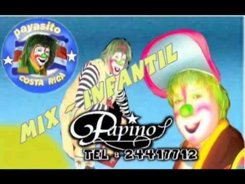 MIX   MUSICA INFANTIL  PAYASO PAPINO