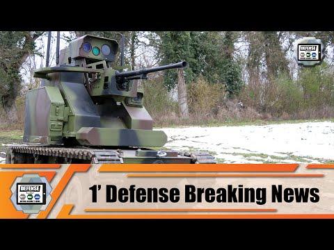 Serbian army demonstrates efficiency of Milos N armed UGV