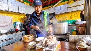 Huge Tibetan Food - 11 Traditional Dishes in Lhasa, Tibet!