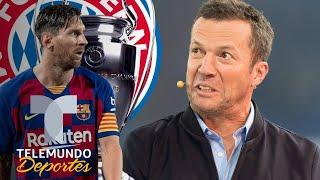 Matthäus advierte al Barcelona de la supremacía del Bayern Munich   Telemundo Deportes