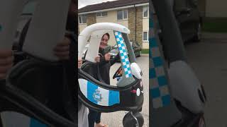 Baby shark challenge no car so baby's bubble car it is