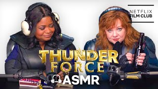Thunder Force | Superhero ASMR with Melissa McCarthy + Octavia Spencer | Netflix