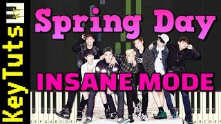 Spring Day by BTS - Insane Mode [Piano Tutorial] (Synthesia)