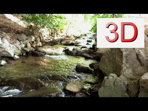 3D Video: Waterfall Relaxation #7