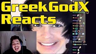 Greekgodx Reacts to 'Who is GreekGodX?' with 12,000 viewers