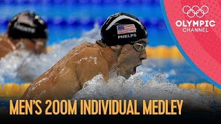 Men's 200m Individual Medley | Rio 2016 Replay