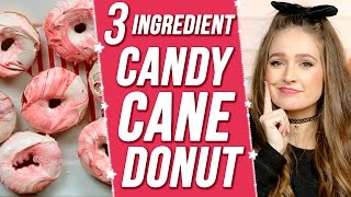 CANDY CANE MARBLE DONUTS?! 3 Items Or Less w/ Courtney Randall