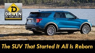 Driven! The All New 2020 Ford Explorer