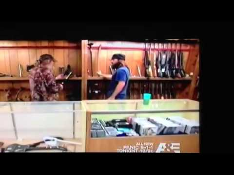 Si Robertson Cane Sword - YouTube