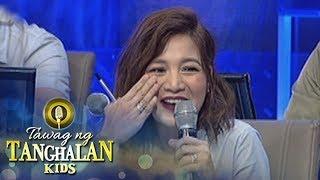 Tawag ng Tanghalan Kids: Hurado Kyla's blush on