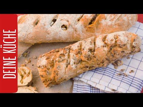 Brot selber backen | 3 Brot-Rezepte | REWE Deine Küche