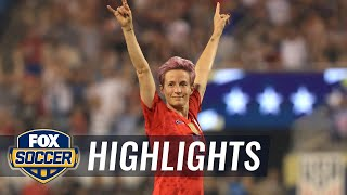 90 in 90: United States vs. South Korea | 2019 Women's International Friendly Highlights