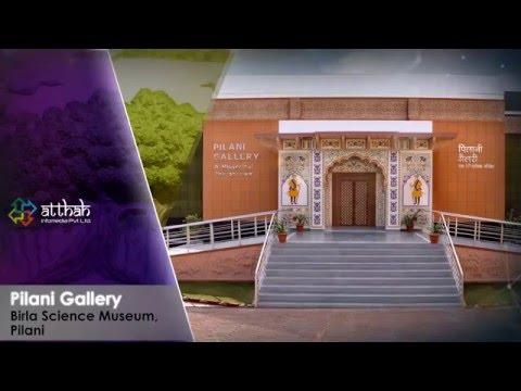 Interactive Installations @ Birla Science Museum, Pilani.