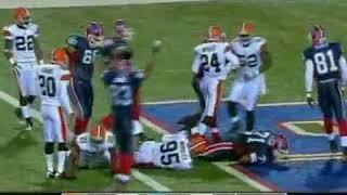 2008 Bills vs Browns Week 11 MNF Highlights