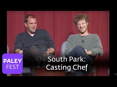 South Park - Getting Isaac Hayes to voice Chef (Paley Center, 2000)