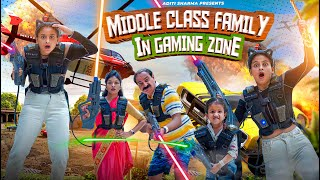 Middle Class Family In Gaming Zone || Aditi Sharma