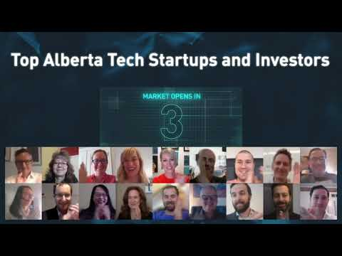 Top Alberta Tech Startups And Investors Virtually Open The Market