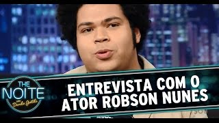 The Noite - Entrevista com Robson Nunes, o Tim Maia no cinema