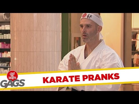 Best Karate Pranks – Best of Just For Laughs Gags