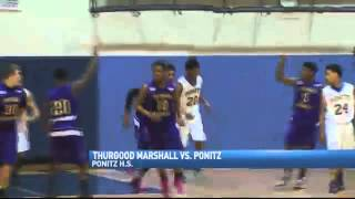 Ponitz Outlasts Thurgood Marshall