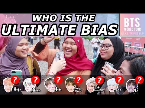 BTS LOVE YOURSELF IN SINGAPORE: ULTIMATE BIAS? - (KPop Secret Invasion Ep 1)