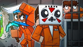 We Had To Break Out Of Prison! - Minecraft