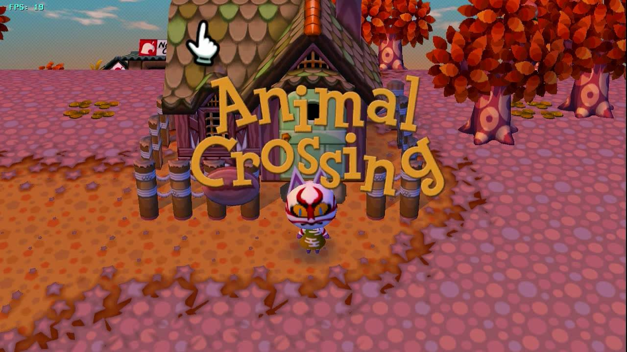 Animal Crossing: Lets Go To The City On Dolphin Wii/GC