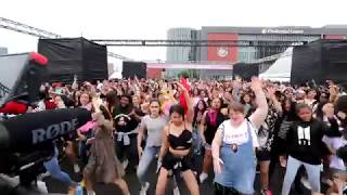 KPOP random play dance for 20 minutes without 'any' break in KCON18NY