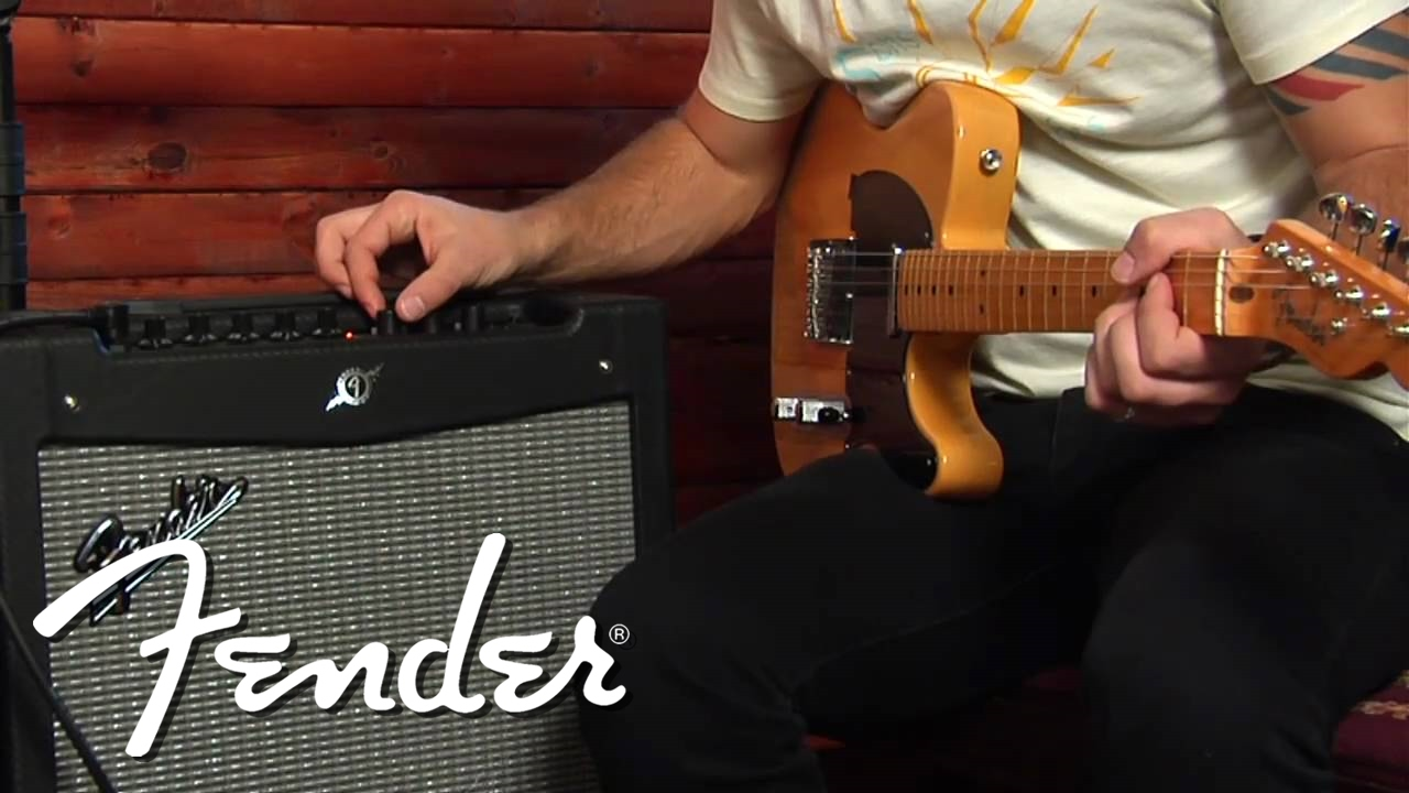 the all new fender mustang amplifier series tutorial youtube. Black Bedroom Furniture Sets. Home Design Ideas