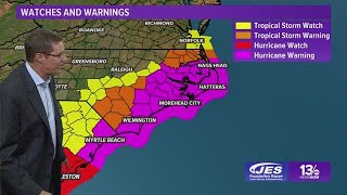 Tropics Update: Tracking Hurricane Florence, Wednesday, September 12, 2018