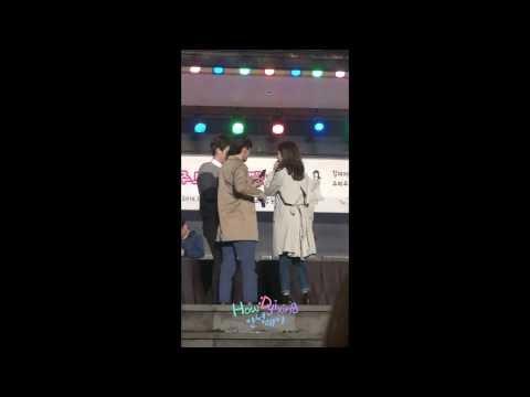 140227 S.M. THE BALLAD CHEN WITH ZHOUMI ZHANGLIYIN 제주도 팬싸 팬들과 셀카찍기 fancam