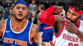 THE REASON CARMELO ANTHONY LEFT NEW YORK! NBA 2K18 My Career Gameplay Ep. 9