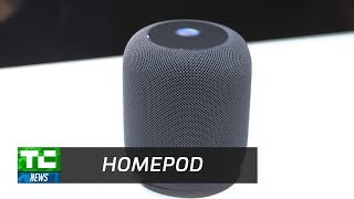 Apple's HomePod Smart Speaker up close