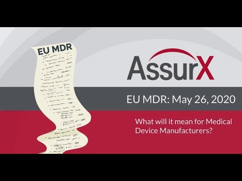 EU MDR: What will it mean for Medical Device Manufacturers?