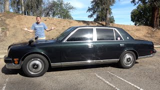 The Toyota Century V12 Is an Amazing Japanese Ultra-Luxury Sedan