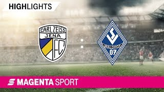 FC Carl Zeiss Jena - SV Waldhof Mannheim   Spieltag 5, 19/20   MAGENTA SPORT